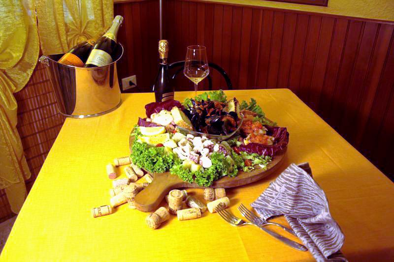 piatto pesce ristorante il veliero